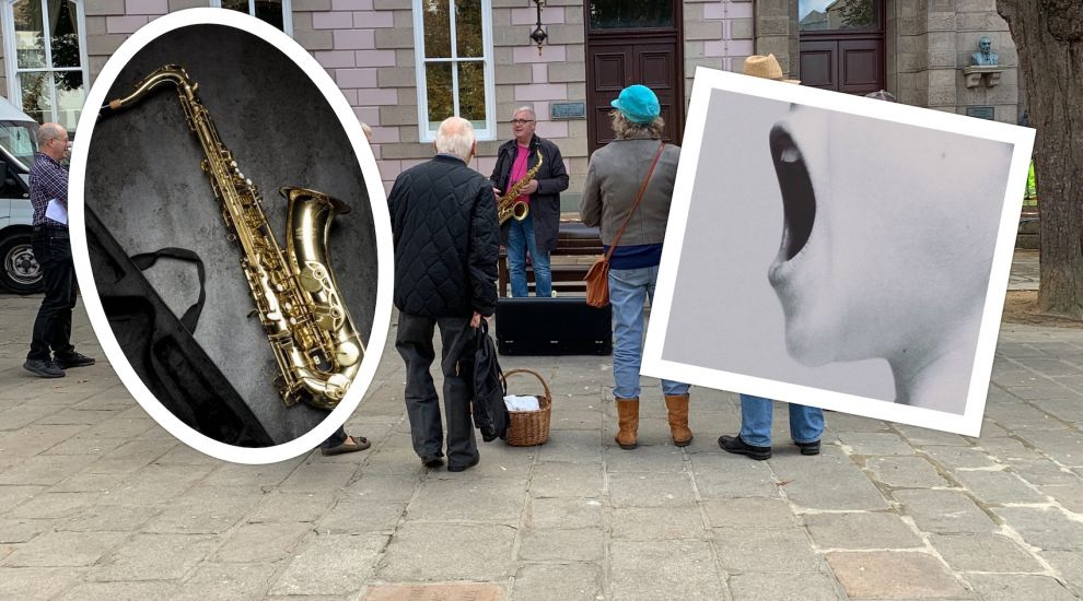 Saxophonist's protest sounds out buskers' blues