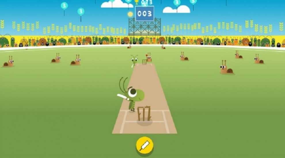 Google Creates Awesome Cricket Game Doodle To Mark Start Of