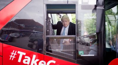 Boris Johnson: I make models of buses to relax