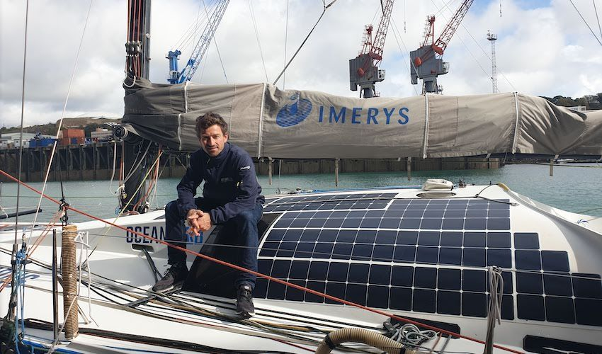 WATCH: Jersey sailor goes green for round-the-world race
