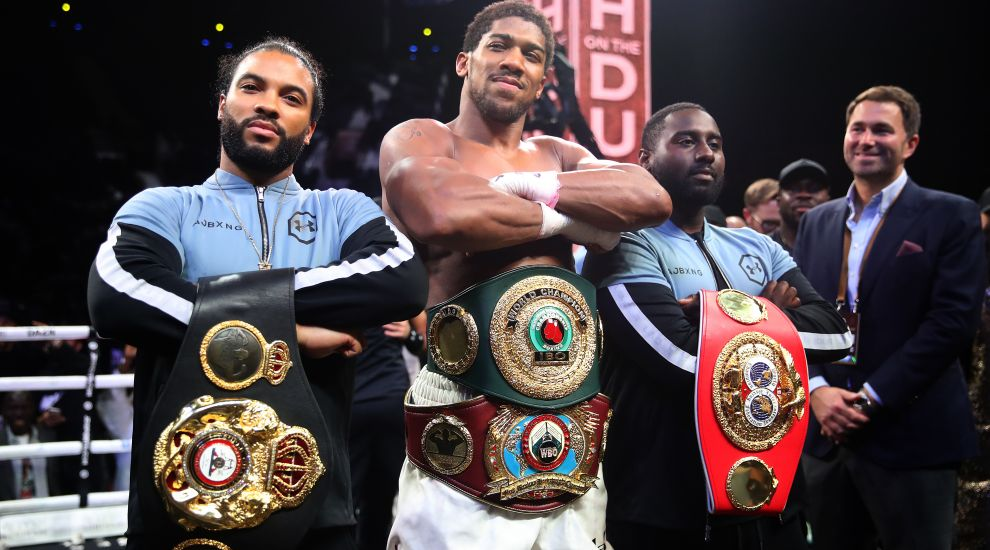 Revenge is sweet for Anthony Joshua after beating Andy Ruiz