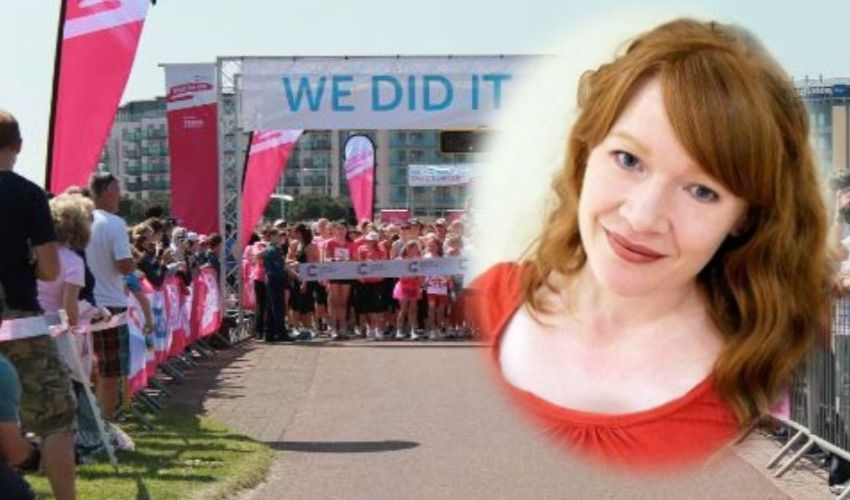 Breast cancer patient tackles clichés in 10k effort