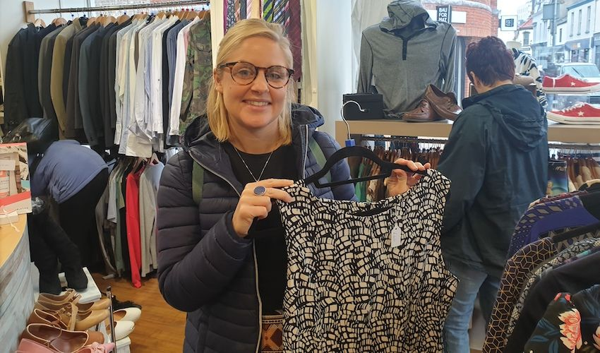 Sustainable style to sparkle on charity shop catwalk