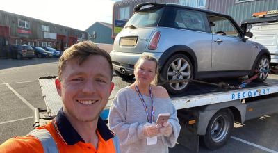 National Lottery winner comes to rescue of stranded trainee NHS nurse