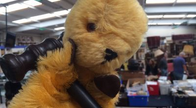 Original Sooty TV puppet set to fetch more than £1,000 at auction