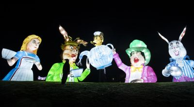 In Pictures: Winter wonderland illuminates Yorkshire nights