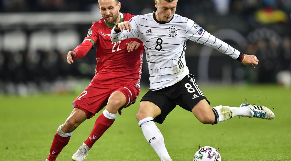 Toni Kroos scores twice as Germany reach Euro 2020