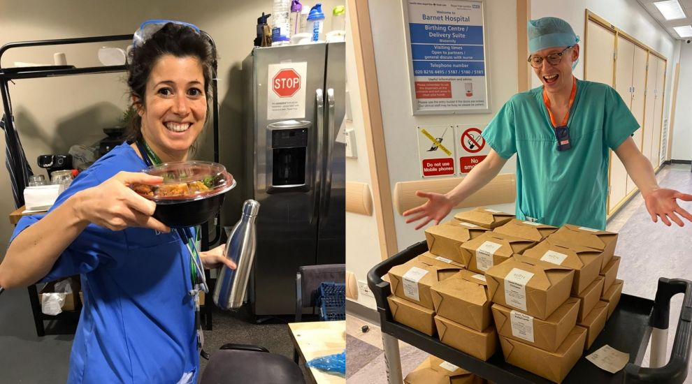 Meals for the NHS: £250,000 raised in just seven days to feed health workers
