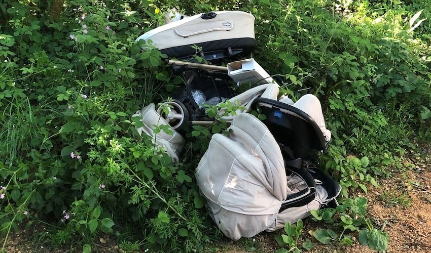 Investigation launched into dumped pram