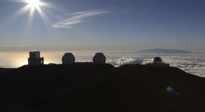 Demonstrators try to block Hawaii's giant telescope project on religious grounds