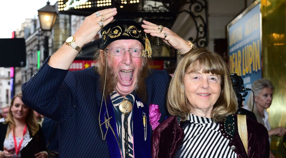 John McCririck's widow says racing pundit died after