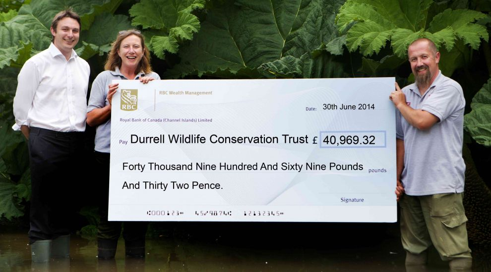 Green grant helps Durrell save water