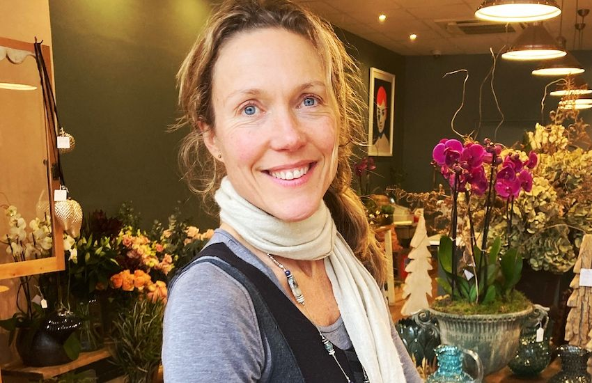Florist hoping business will start blooming