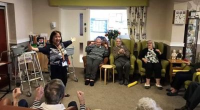 Care home turns to tech to offer Tai Chi, bingo and darts activities