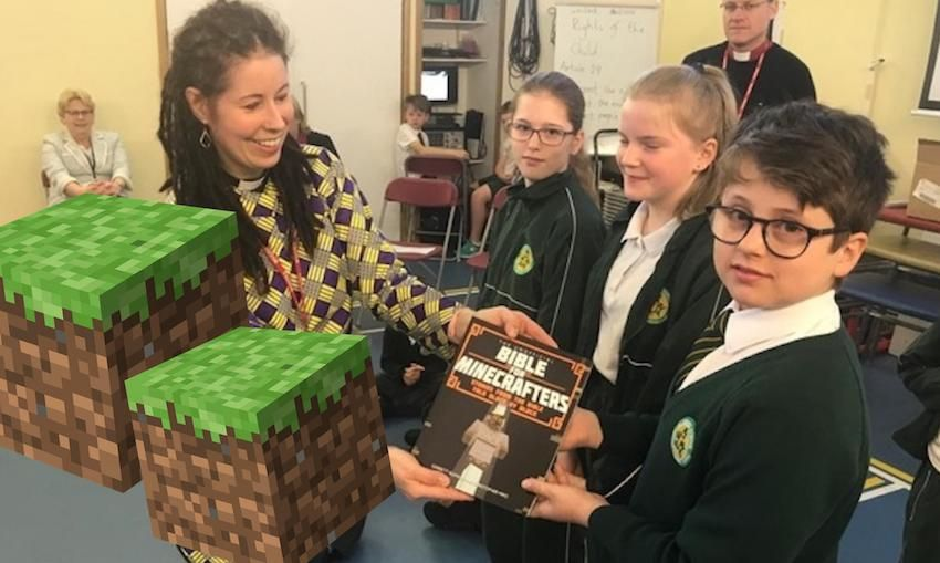 'Minecraft Bibles' donated in bid to boost religious education