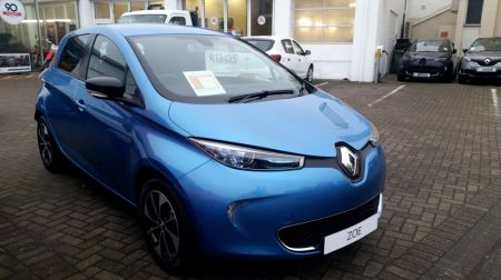 2018 Renault Zoe i Dynamique Nav 100% Electric Automatic 5 Door Hatch