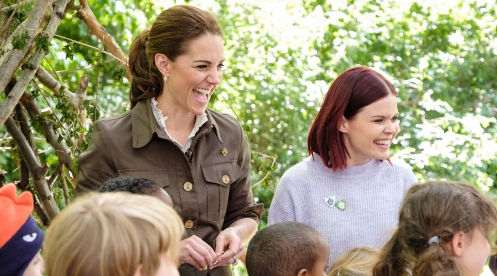 Kate launches Blue Peter garden competition