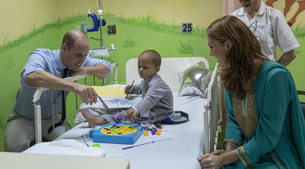 In Pictures: Children the focus for William and Kate in Pakistan