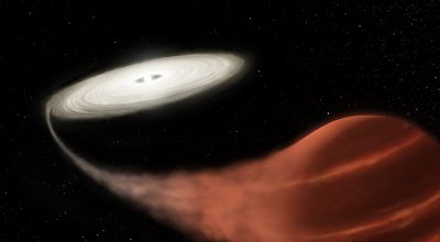 Astronomers find 'vampire' star in midst of feeding frenzy