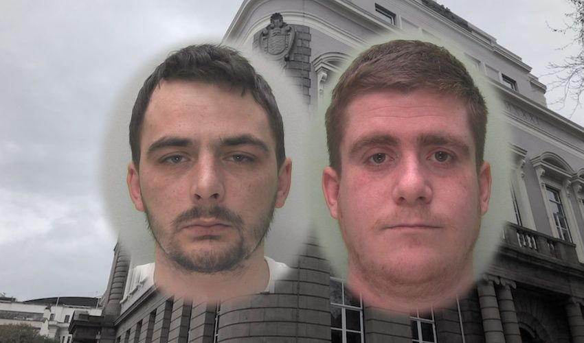 'Brazen' champagne and brandy thieves jailed