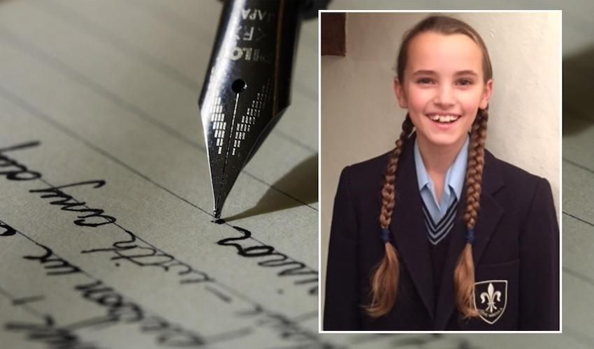 Love-filled recipe wins schoolgirl trophy