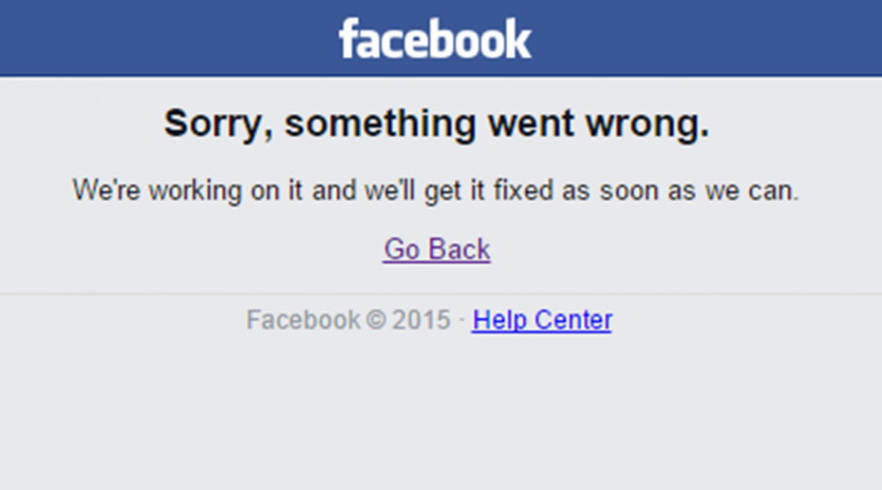 7 funny reactions to Facebook going down for the second time this week