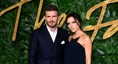 David Beckham 'so proud' of wife Victoria at LFW show