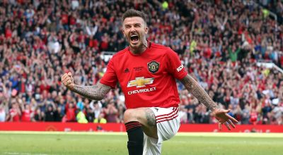 Announce Beckham: Man United fans nostalgic as Becks impresses at Old Trafford