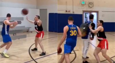 Watch: Basketball impressionist expertly mimics Steph Curry