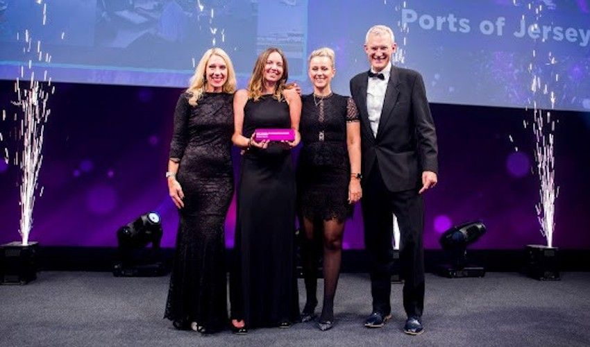 Ports of Jersey celebrates national award win