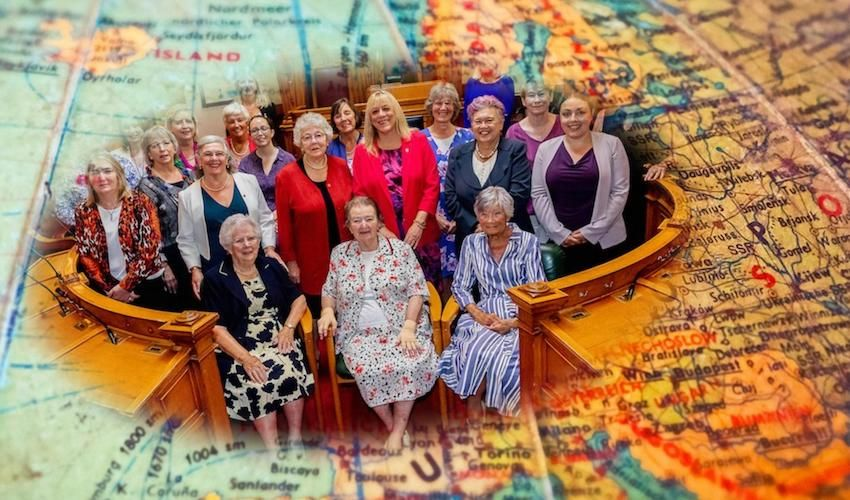 Female politicians gather to plan next 100 years
