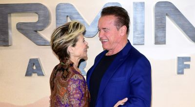 Terminator stars Arnold Schwarzenegger and Linda Hamilton – then and now