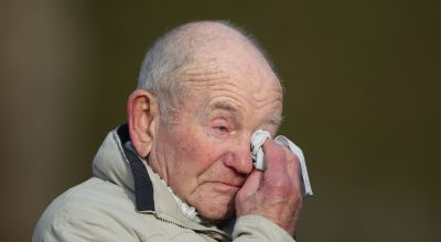 Tearful pensioner pays tribute to airmen as 75-year flypast dream comes true