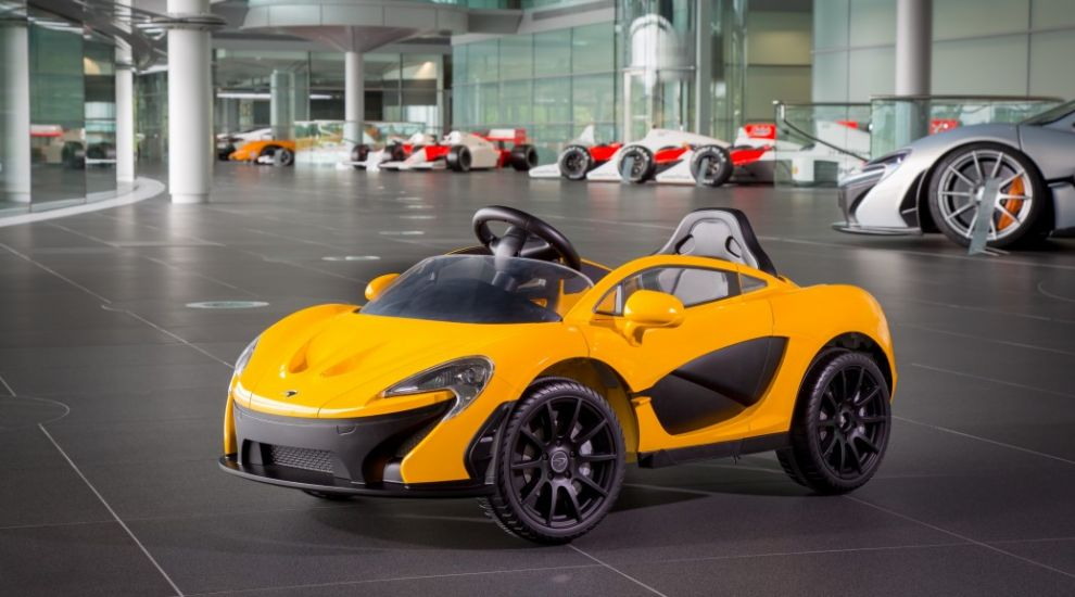 Mclaren Releases Its First Fully Electric Car For Six Year Olds