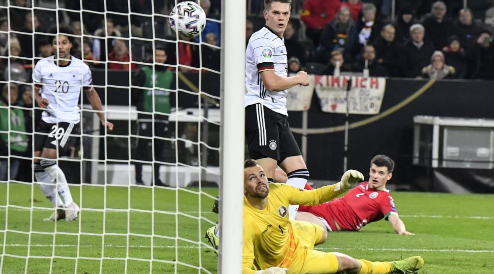 Ginter delighted to open international account as Germany secure Euro 2020 spot