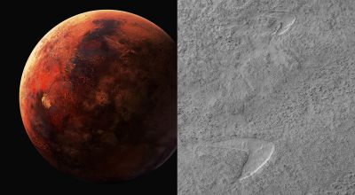 Nasa makes Star Trek joke after finding 'dune footprint' on Mars