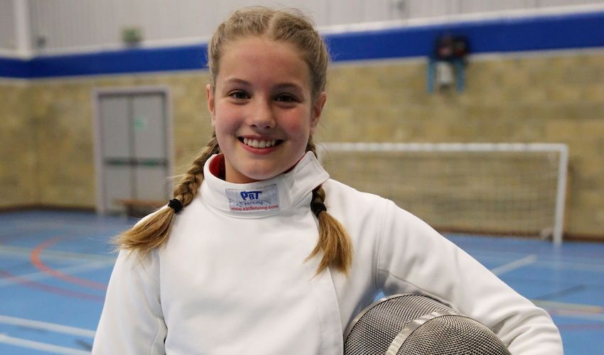 En-garde! Young fencer aims to take stab at Olympics