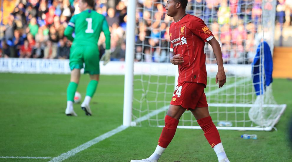 Brewster a 'top talent' with an important role to play, says Reds boss Klopp