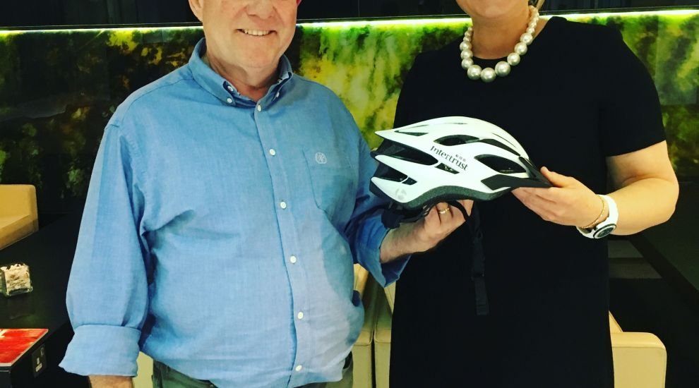 Intertrust gives away 200 cycle helmets