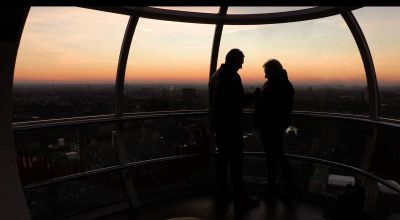 Valentine's Day proposal a success as couple get engaged on the London Eye