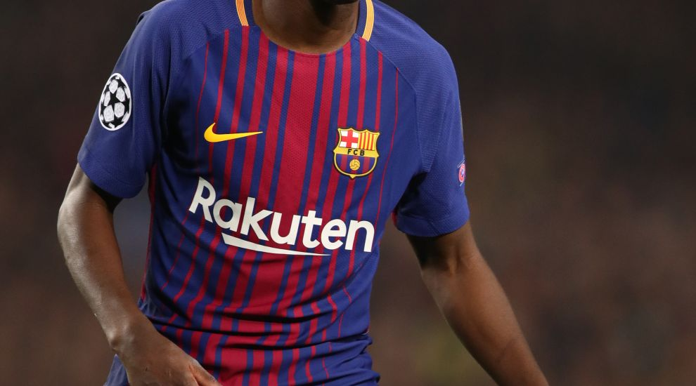 newest collection 99da3 d5e79 Ousmane Dembele at the double as Barcelona hammer Villarreal ...
