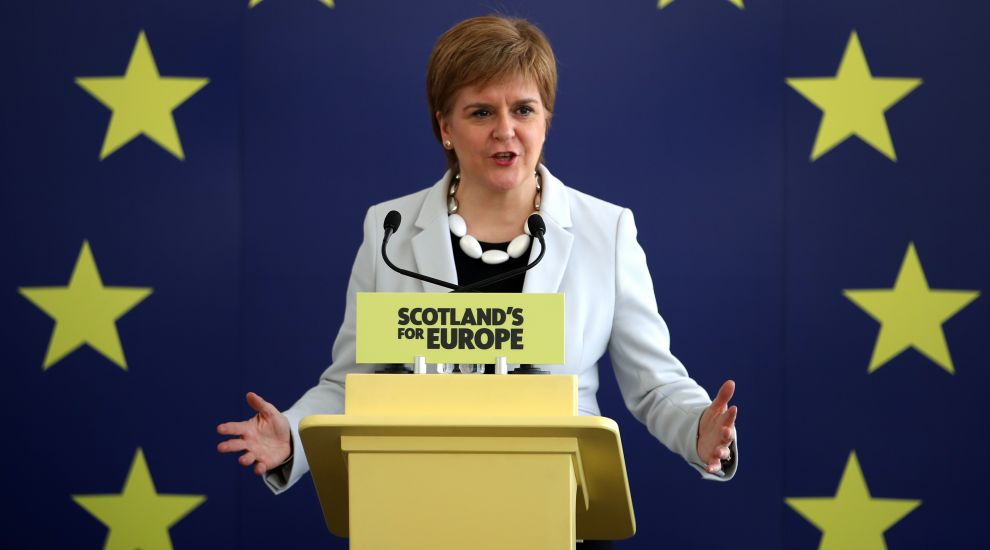 Sturgeon: Independence plans would be accelerated in event of hard Brexit