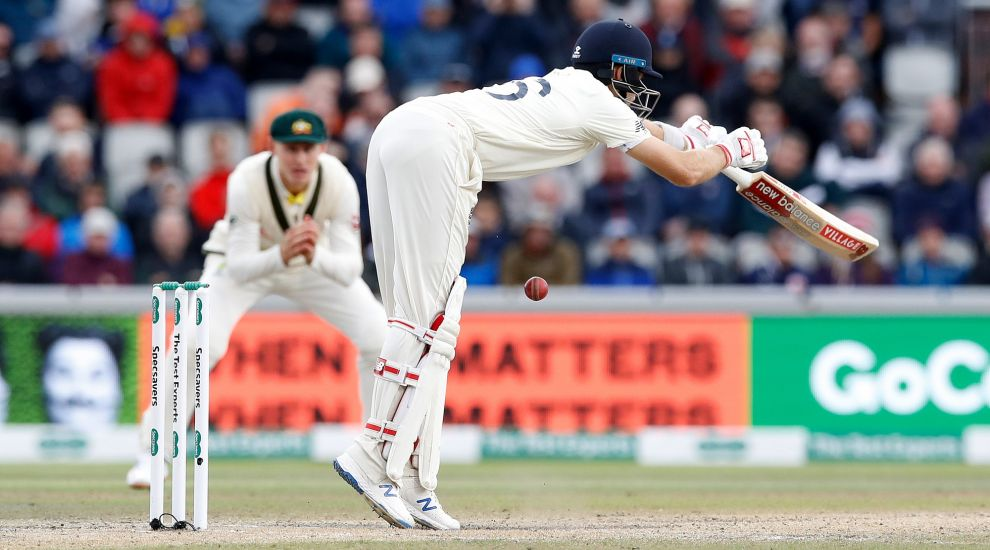 Joe Root's box shattered after 87mph Starc delivery hits him in the groin
