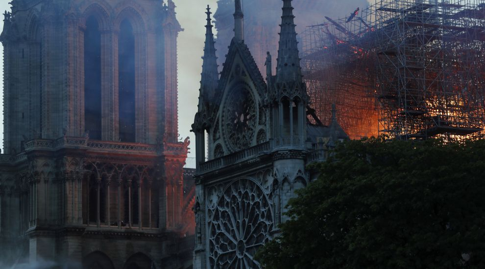 How the Notre Dame Cathedral fire unfolded