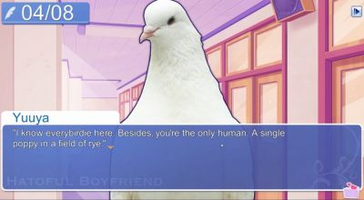 Now you can fall in love with a pigeon via your PlayStation