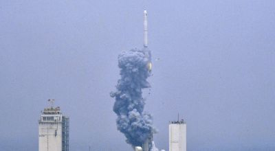China launches first rocket from mobile platform in Yellow Sea