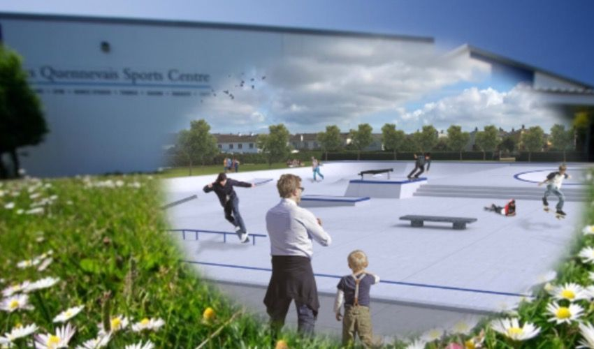 Les Quennevais gets wheel of approval as skatepark site