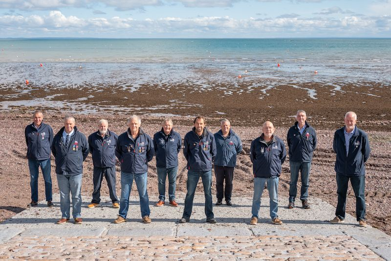 Jersey RNLI volunteers recognised for long service