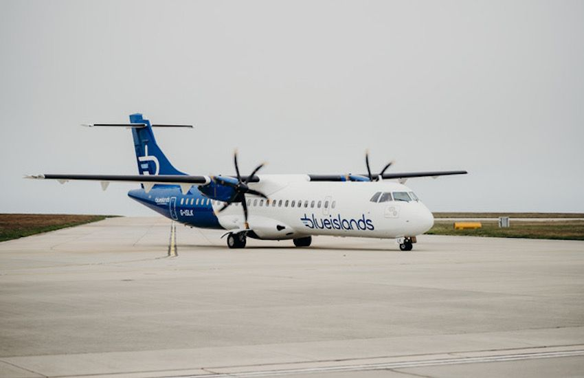 Blue Islands reveals new look and routes