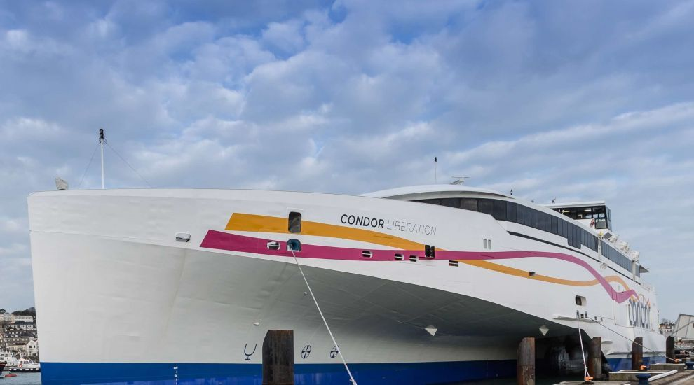 Condor aims to restart high-speed ferries in May
